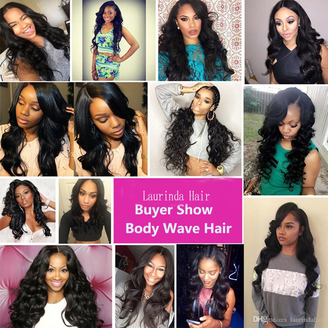 Ear to Ear Lace Frontal with 3 Bundles Brazilian Virgin Human Hair with 13*4 Top Lace Frontal Closure Hairline Lace Frontal