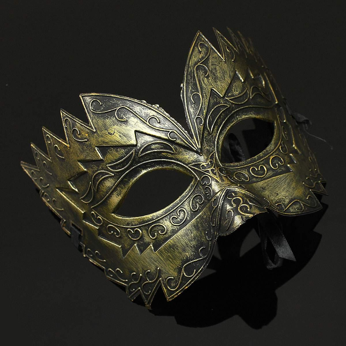 metal halloween fancy party roman gladiator masked ball