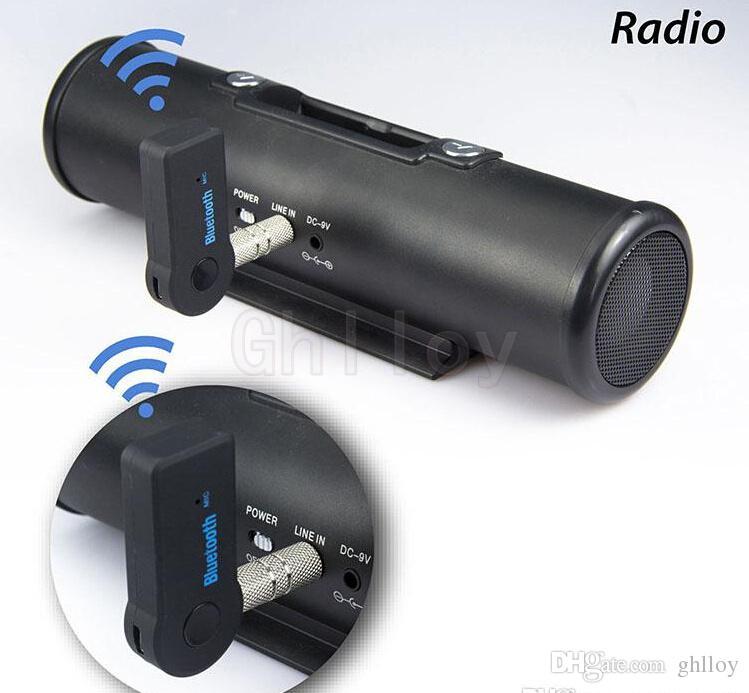 Universel 3.5mm Streaming Voiture A2DP Sans Fil Bluetooth AUX Audio Adaptateur Récepteur Musique Mains Libres avec Micro Pour Téléphone MP3