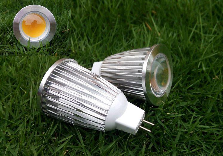 7 Watt COB LED Ceiling Spot Lights Bulb Lamp MR16 GU 10 E27 E14 GU5.3 Spotlight Warm white Cool white for Indoor Home Lighting 12V 85-265V