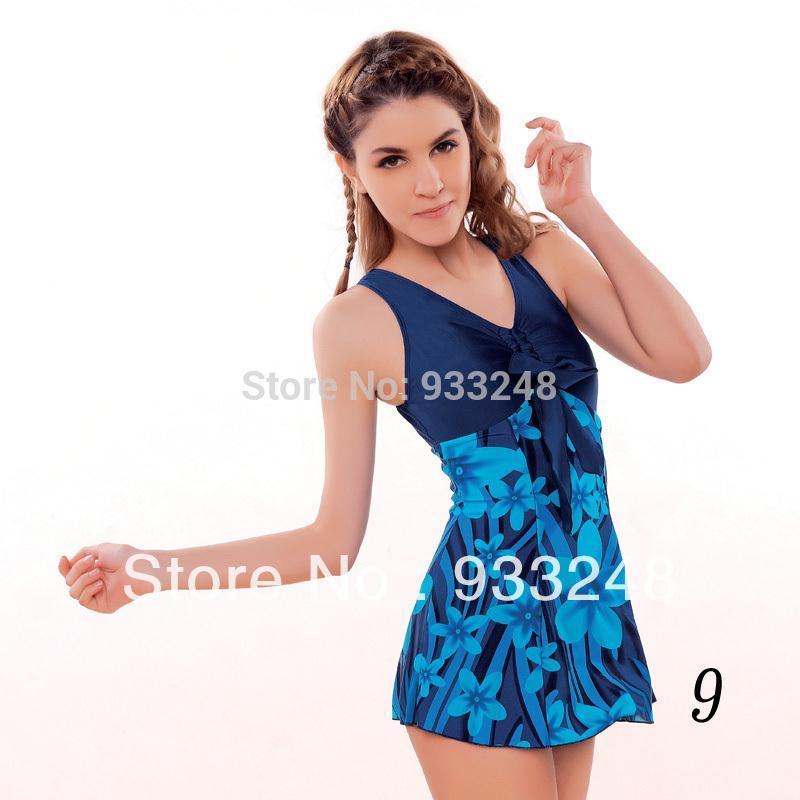 Cheap one piece swim dresses
