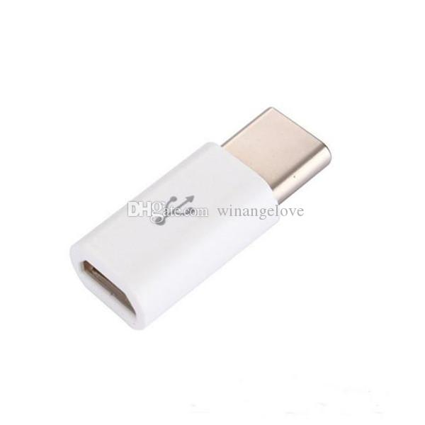 High Quality Micro USB female to USB 3.1 Type-c male Cable Adapter Charge Data Sync Converter for MacBook Nokia