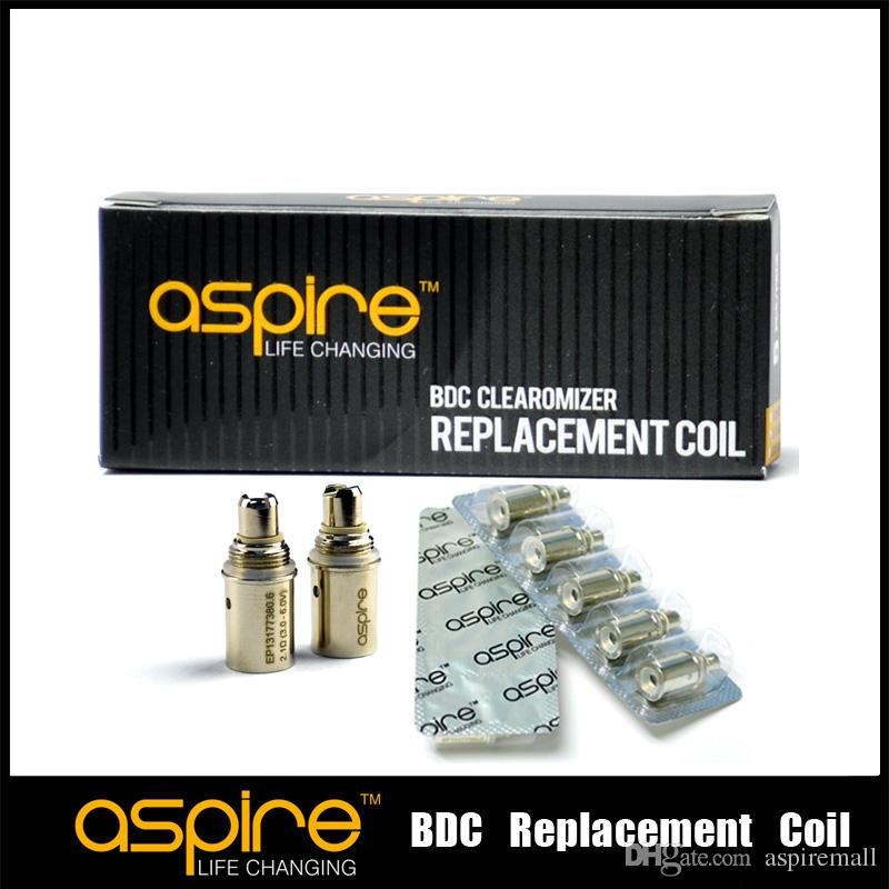 100% Original Aspire BDC Coils 2.1ohm 1.8ohm 1.6ohm for aspire bvc clearomizer ets ce5 ce5s et k1 atomizer