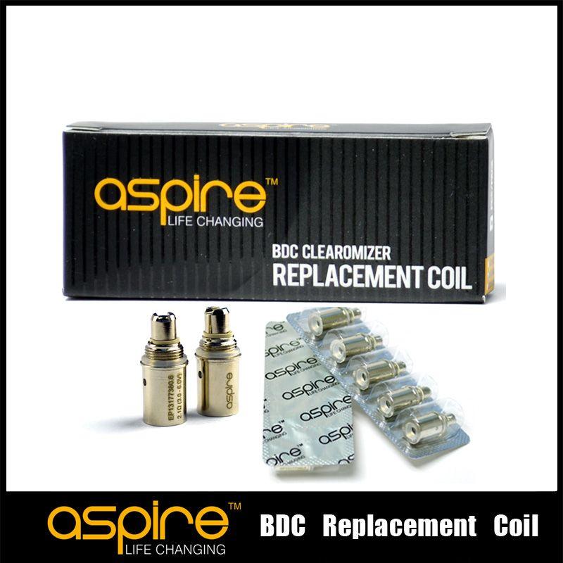 Commercio all'ingrosso - Bobine Aspire originali Aspire BDC Atomizzatore fondo bobina dual coil di ricambio CE5 ET mini vivi nova s maxi atomizzatore