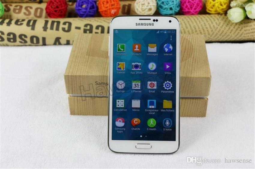 Refurbished Original Samsung Galaxy S5 G900F G900A G900V G900T G900P 5.1 inch Quad Core 2GB RAM 16GB ROM 4G LTE Unlocked Phone DHL