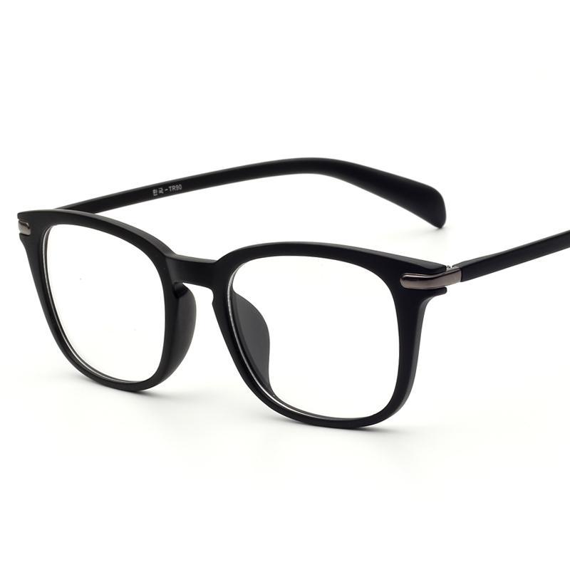 2016 Women Men Fashion Tr90 Eyeglass Frames Plain Reading Computer ...
