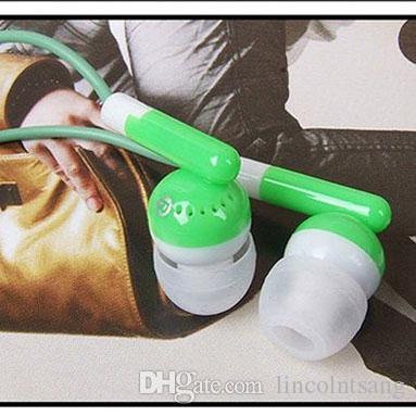 Auriculares desechables al por mayor auriculares de bajo costo auriculares para la biblioteca de la escuela Museo del teatro, hotel, regalo de regalo de Hospital para la compañía Colorido