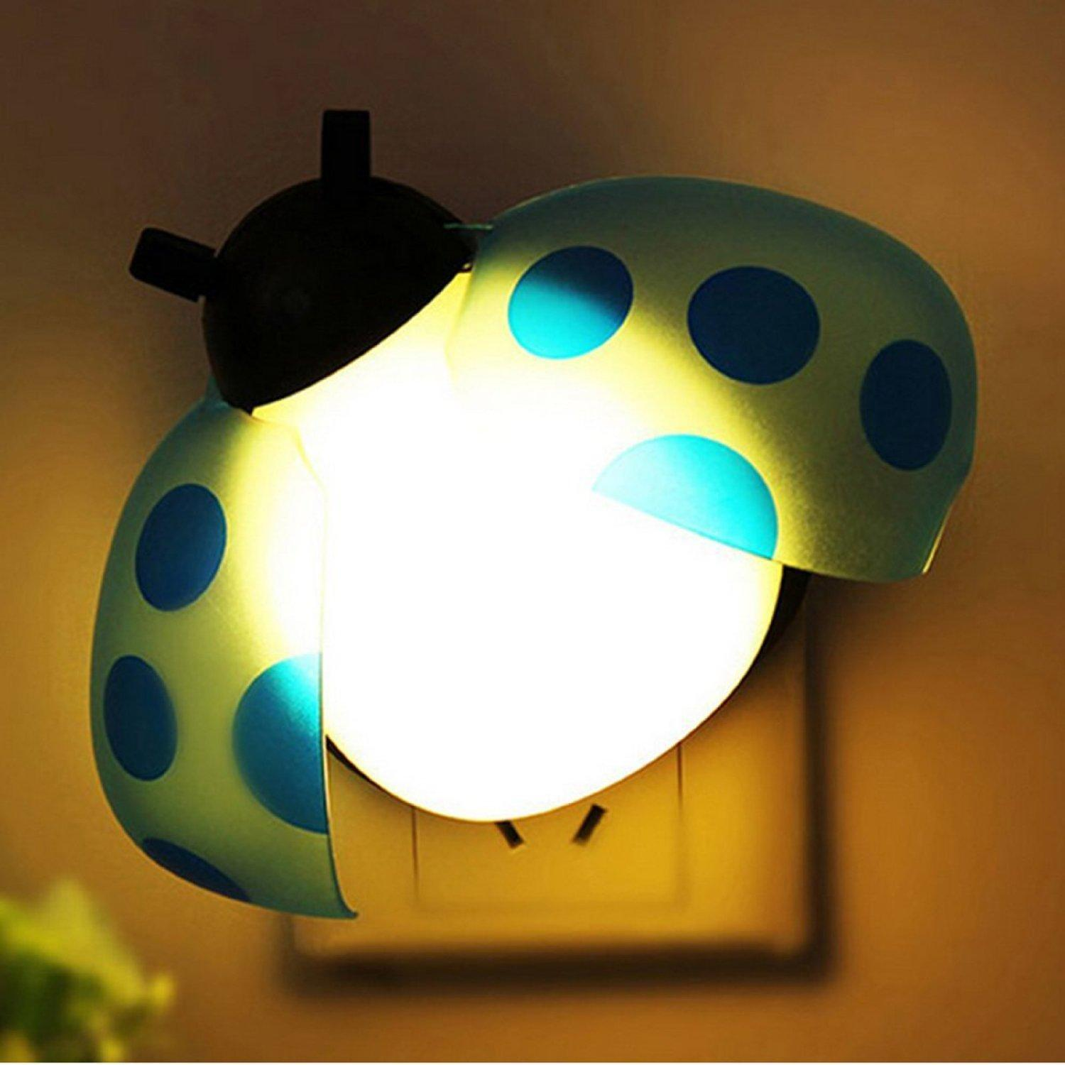 2017 Beatles Cartoon Led Night Light Intelligent Sound Control Put In Wall Lamp With Socket Cute Small Sleep For Living Room Bedroom From