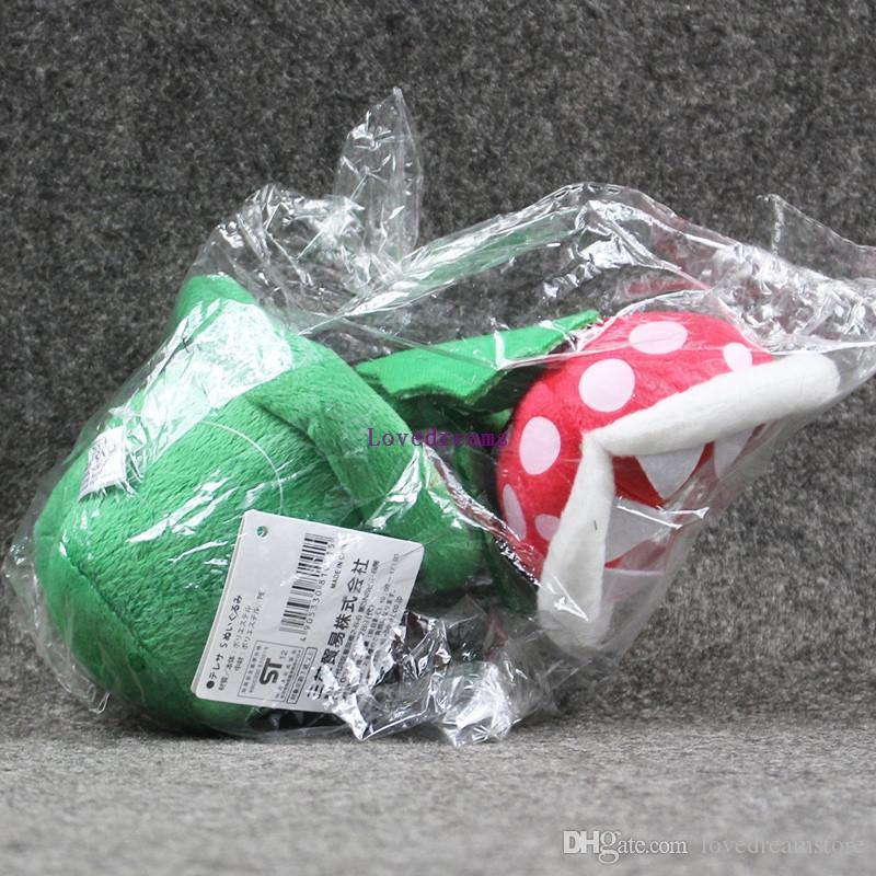 New Sale Super Mario Plush Piranha Plant Mario no sucks Plush 20CM Anime Toys Soft Toys for Kids Peluche Mario Stuffed Toy Kids Gift