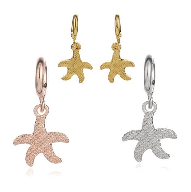 Online Cheap Cute Starfish Pendant Charm For Endless Bracelets
