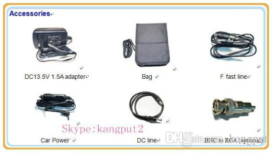 Hot koop! TV Signaal Meter HD Satellite Finder Tester 968G