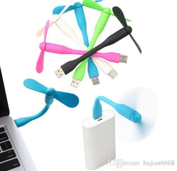 Bellek Taşınabilir Esnek USB Mini Fan için popüler taşınabilir usb Fan Düşük güç xiaomi tüm Güç Kaynağı PC USB Çıkışı