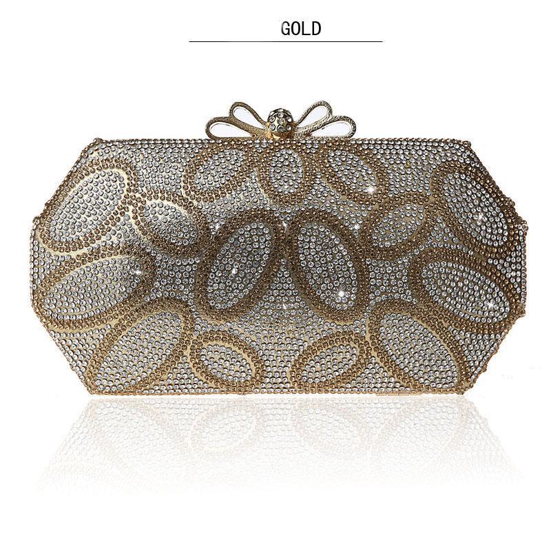 새로운 나비 걸쇠 가방 패션 라인 석 클러치 백 연회 지갑 고품질의 저녁 식사 가방 신부 파티 댄스 파티 드레스 핸드백
