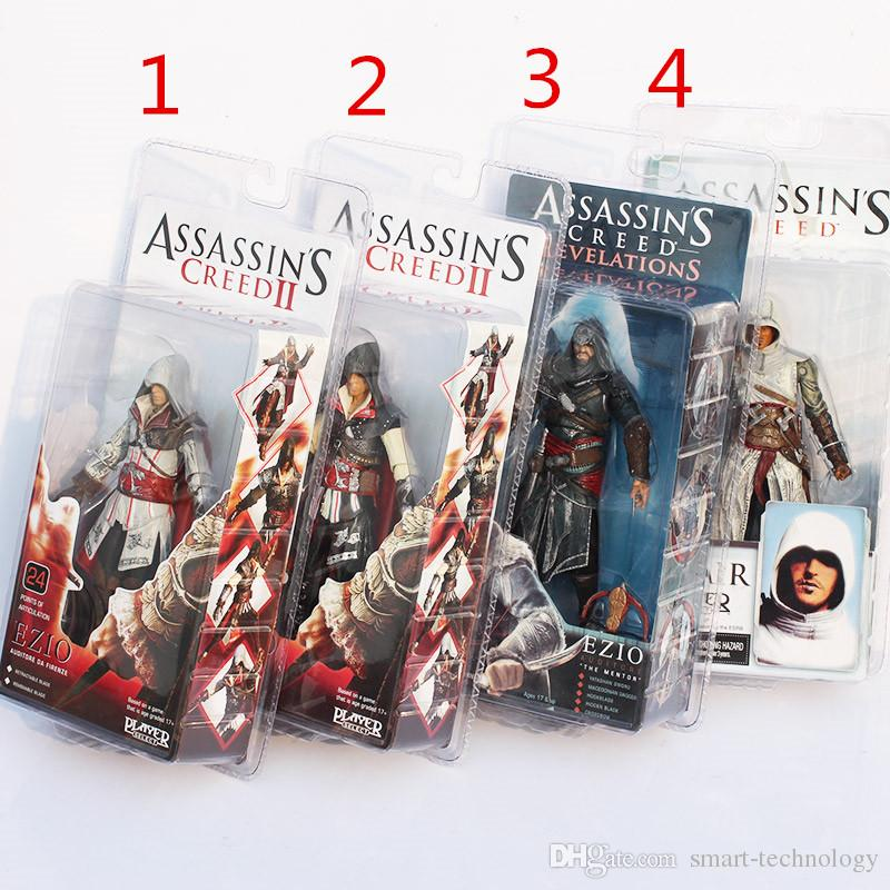 online cheap high quality neca toys assassins creed pvc action