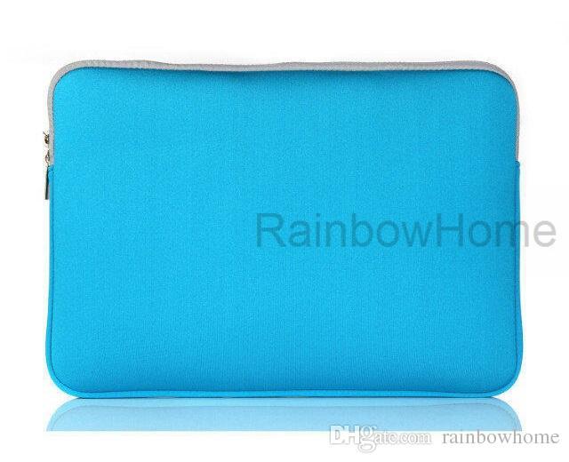 Mode Laptop Protective Case Zipper Sleeve Bag för MacBook Air Pro Retina 11 12 13 15 tums handväska som reser vattentät
