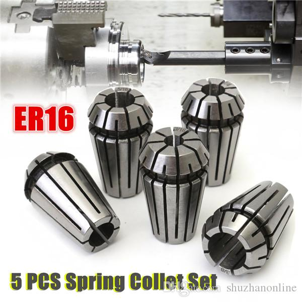 1/8 to 3/8 Inch Spring Collet Set for CNC Milling Lathe Tool
