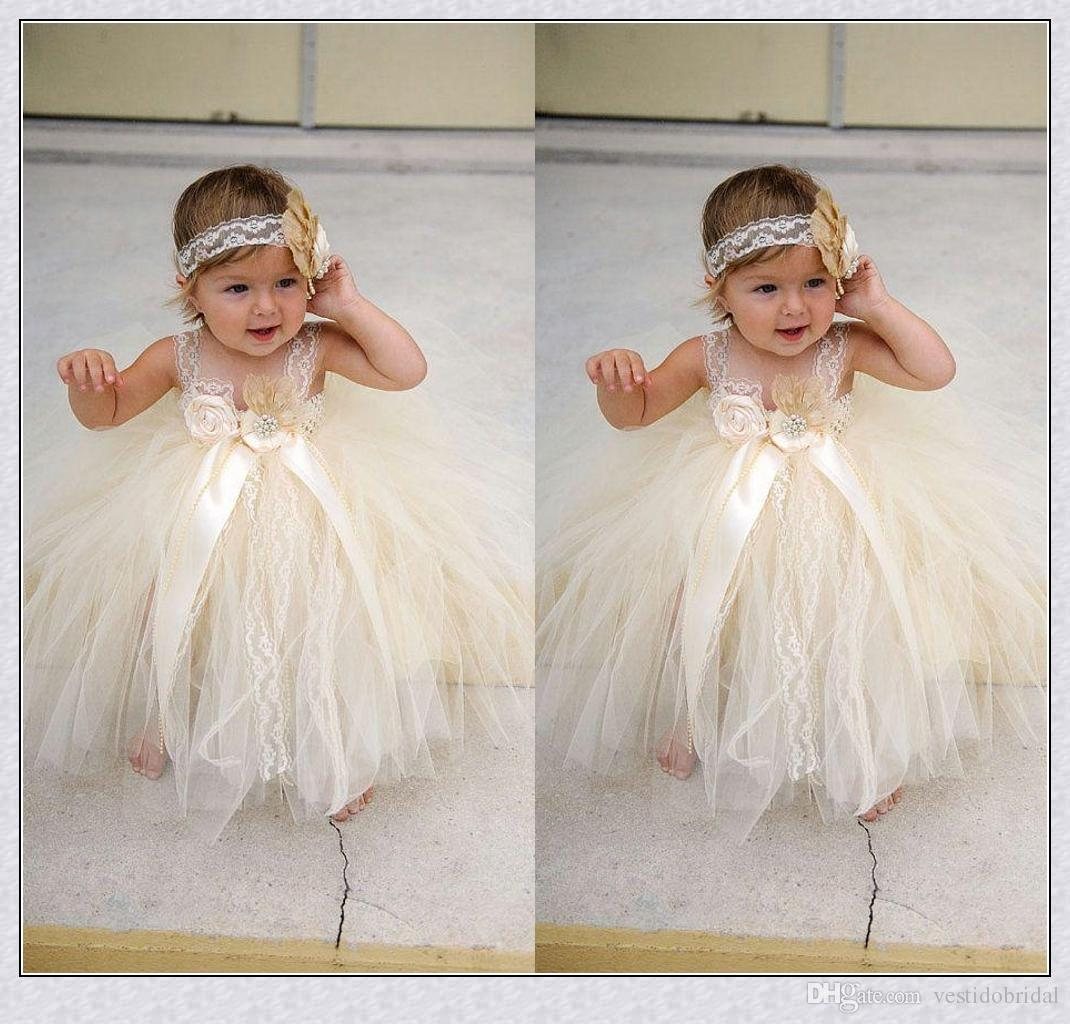 Pretty Flower Girl Dresses Toddler Baby Girl Flower Girl Dresses