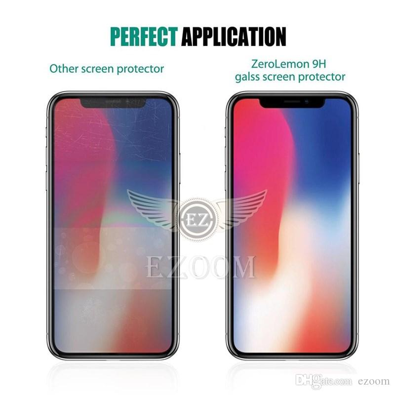 Tempered Glass Screen Protector Anti-fingerprint For Iphone XR XS MAX X 8 7plus Samsung Galaxy A6 A8 A9 J4 J6 J8 A10 A50 A70 2019 Huawei P30