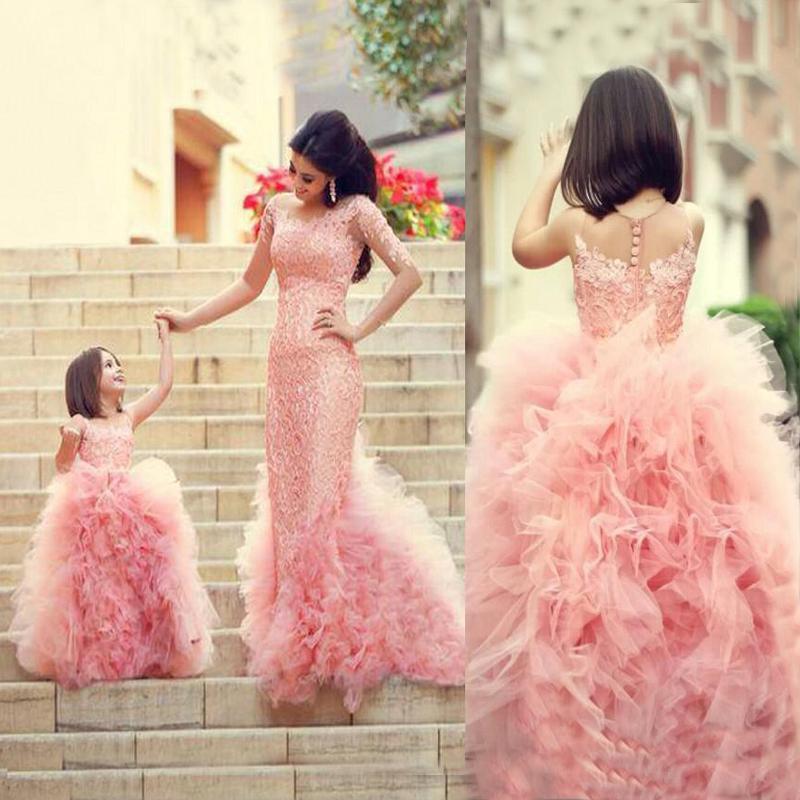 Compre Baratos Hermosas Por Encargo Lindo Vestido De Las Niñas De ...