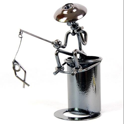 Wonderful 2018 Cool Fashion Metal Fishing Pen Holder Office Desktop Decoration Pencil  Holder 2015 Hot Sale Style In Stock From Service, $30.16 | Dhgate.Com