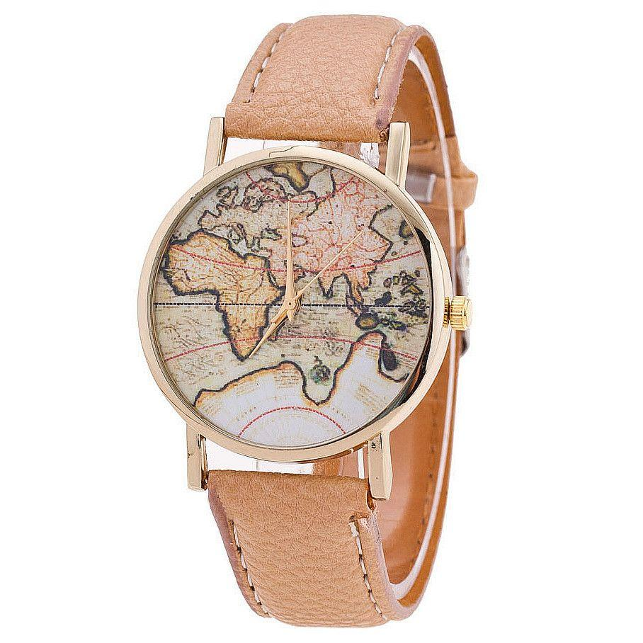 Fashion world map watch relogio feminino women watches quartz fashion world map watch relogio feminino women watches quartz watches reloj mujer watch buy online watch buy from kungfu999 869 dhgate gumiabroncs Choice Image