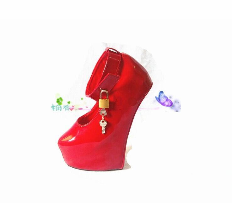 New shoes woman sex toys Unisex sexy BDSM sm game play pony no heel fetish thigh high bondage boots Horseshoe heeled boots