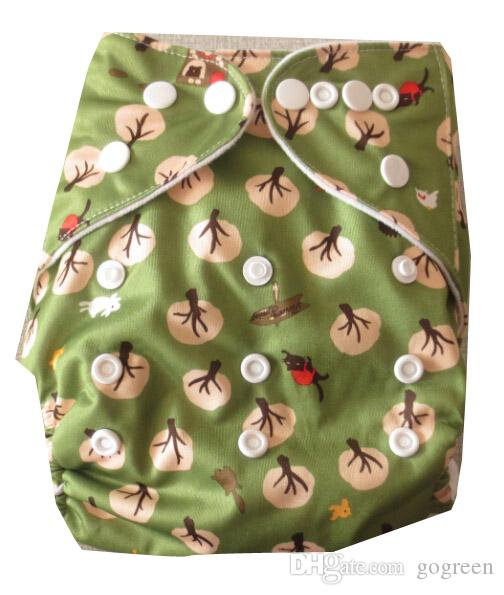 adjust snaps baby cloth diaper. Reusable Print baby cloth diaper,One Size Pocket Diaper,Cloth nappy for you lovely baby