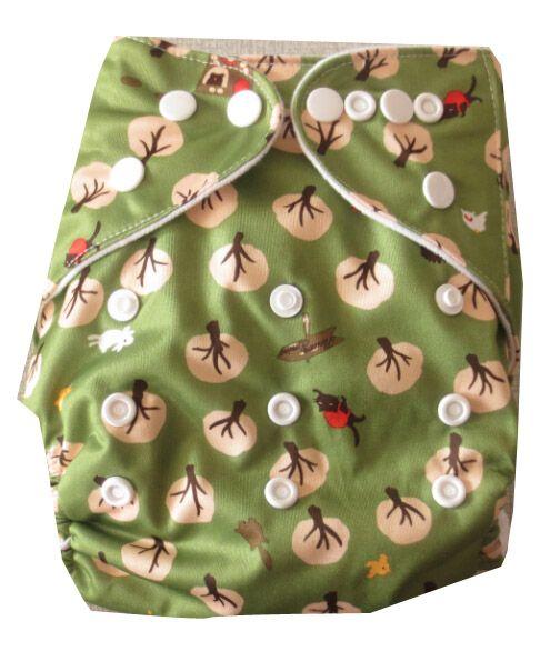 Ajustar los pañales de tela de bebé. Pañal de tela de bebé de impresión reutilizable, pañal de bolsillo de un tamaño, paño de paño para usted Encantador bebé envío gratis