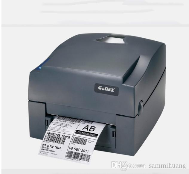Godex g500u thermal label and barcode printer 108mm printing width can support to print jewelry tag and clothing tag sticker machine laser color printer