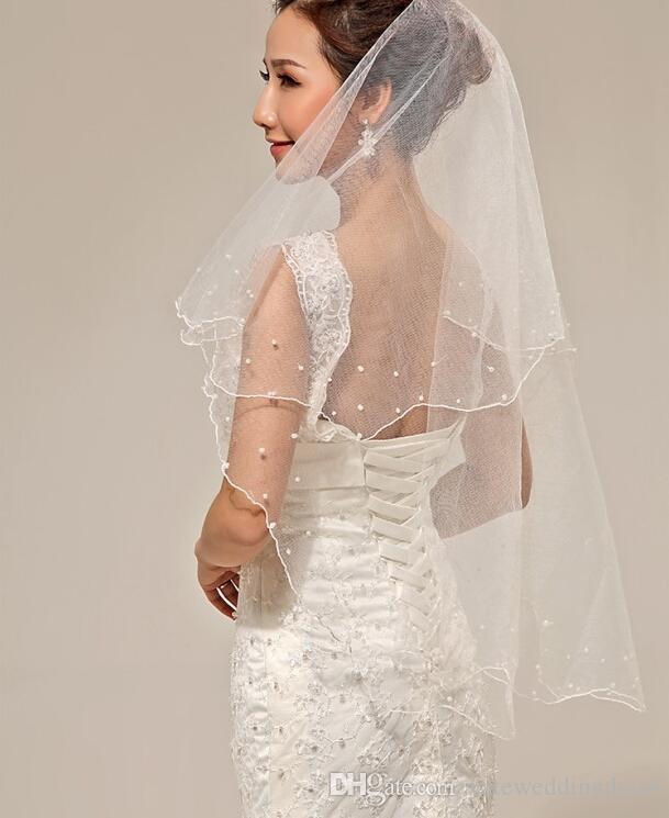 Jupon De Mariage Gants Veil Set Pas Cher En Stock Blanc Accessoires De Mariée Pour Robe De Mariage Robe De Coude Longueur Gant De Mariée Cristal Veil