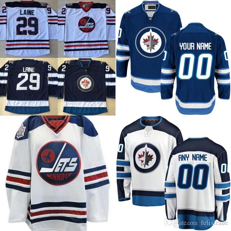 brand new 13820 4dd23 #29 Patrik Laine Mens 2016 HERITAGE CLASSIC Winnipeg Jets 40 Joel Armia 26  Blake Wheeler 33 Dustin Byfuglien Cheap Stiched Hockey Jerseys