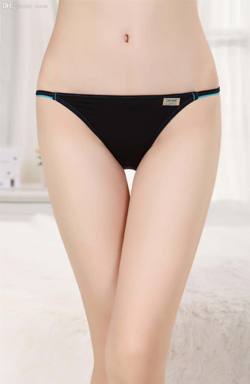 2017 Wholesale Modal Women'S Underwear Low Rise Panties String ...