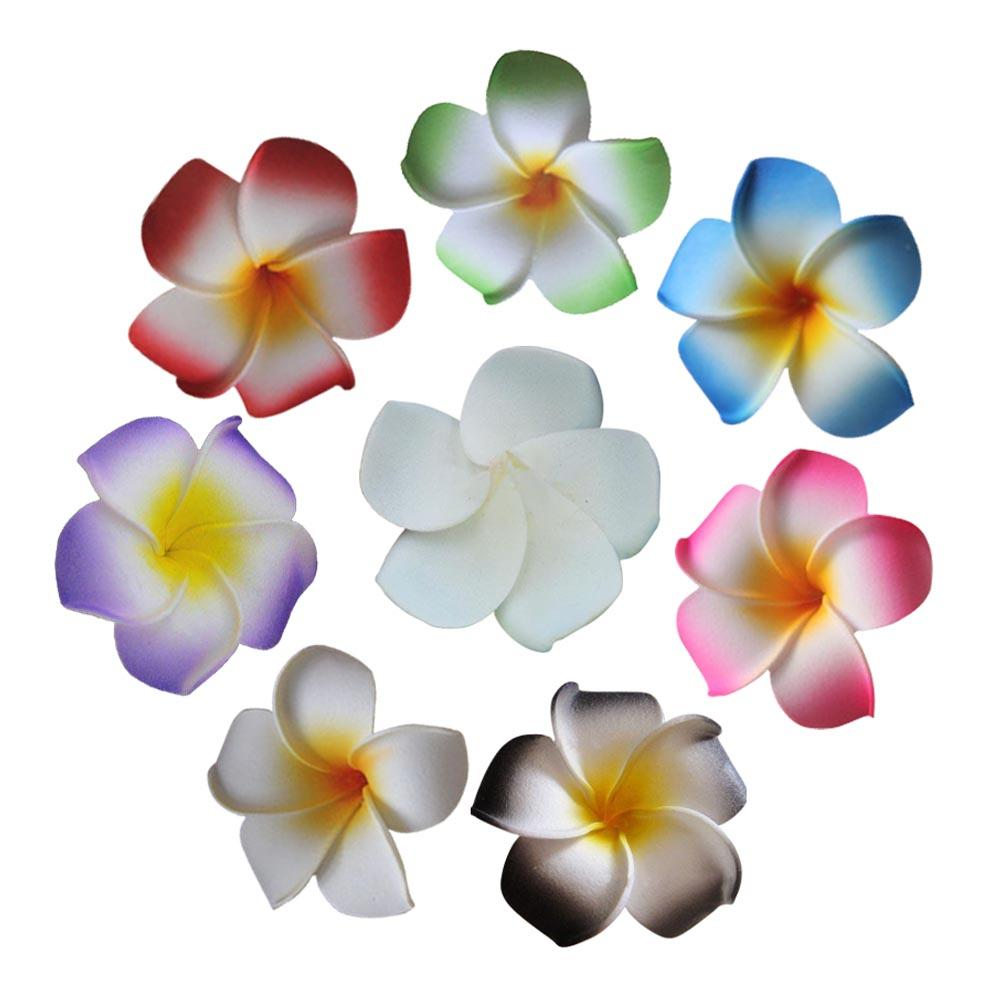 2018 4cm multicolor fake frangipani artificial foam hawaiian 2018 4cm multicolor fake frangipani artificial foam hawaiian plumeria flower heads wedding party decorations diy hair clips from home1688 3379 dhgate izmirmasajfo