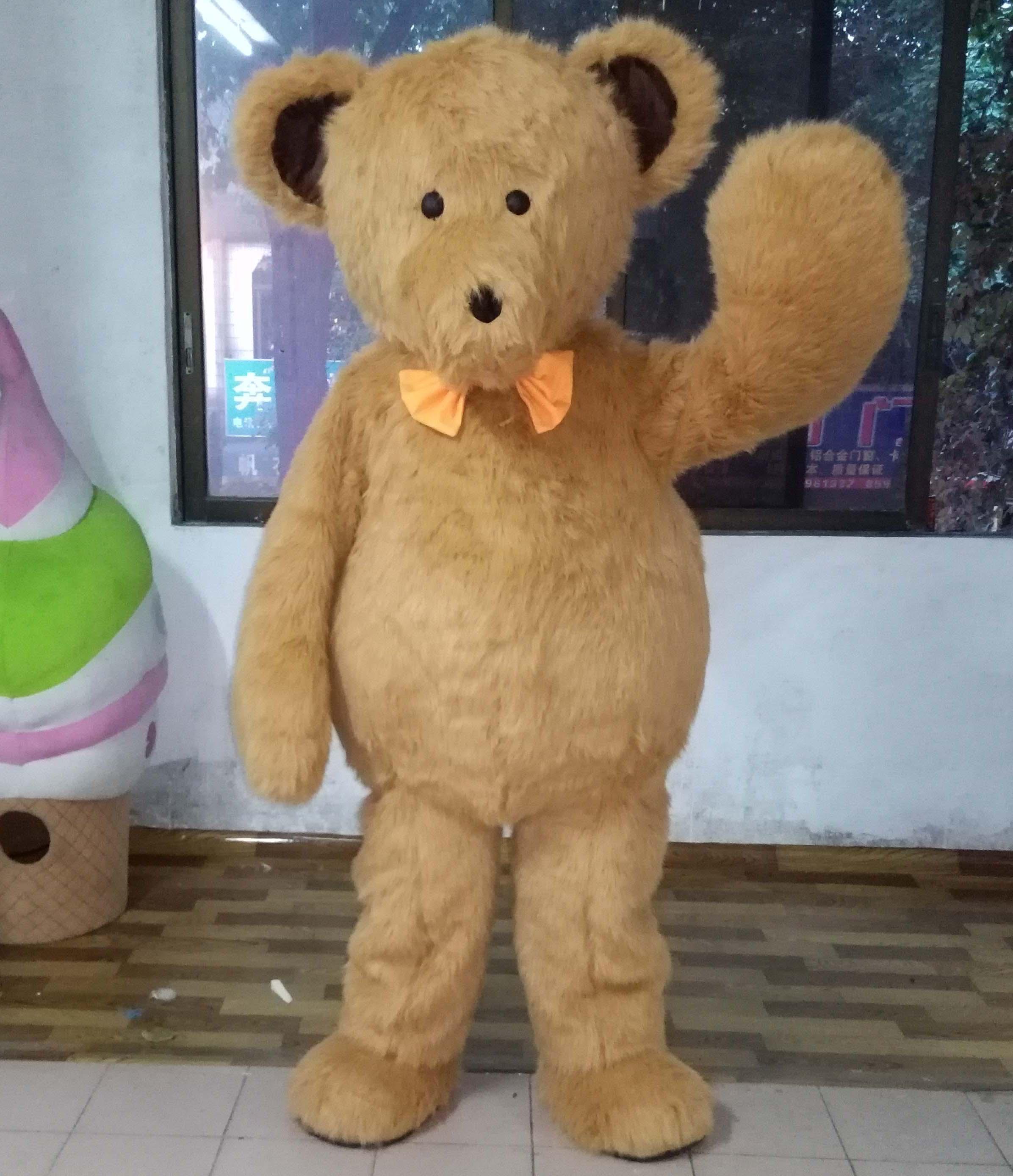 teddy bear costume porn