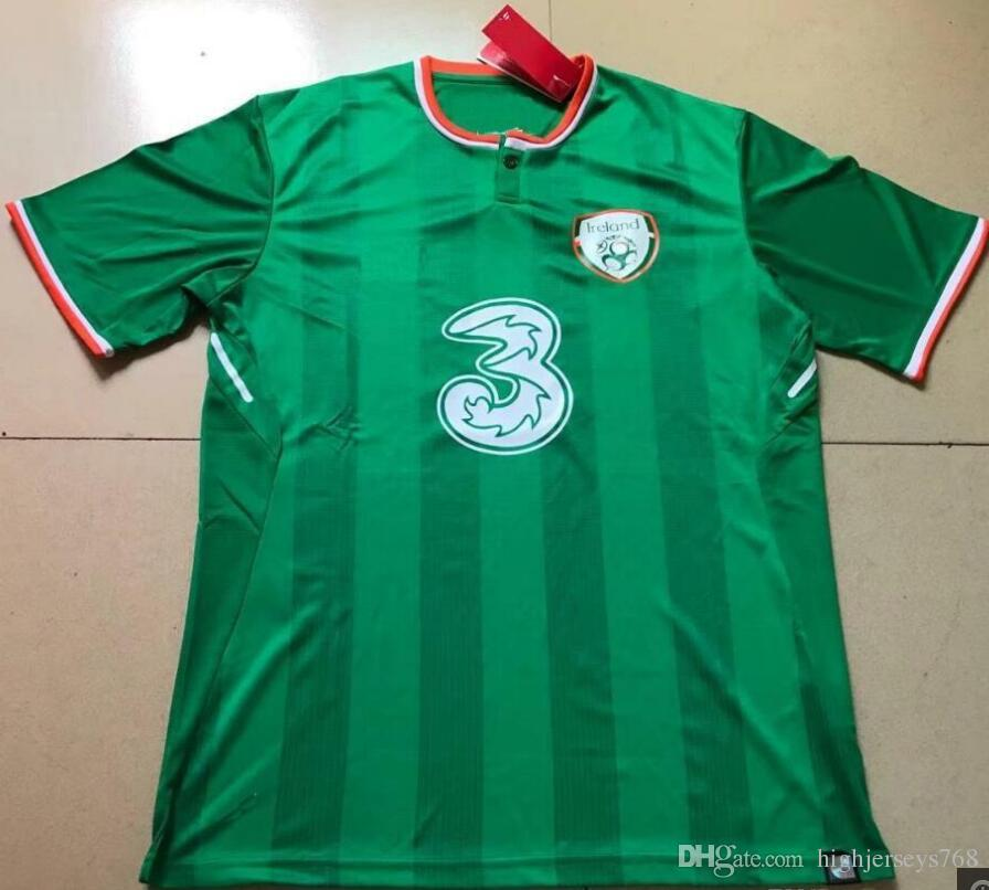 2017 2018 Ireland soccer jerseys Republic of Ireland national team jerseys 2018 World Cup Ireland KEANE Daryl home away football shirts