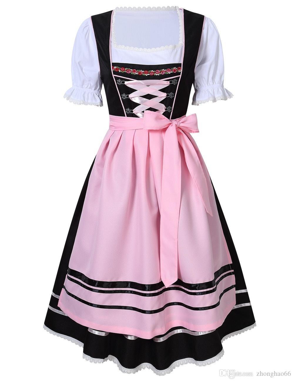 782189336fc New German Bavarian Oktoberfest Promotional Exhibition Dress Holiday Party  Dresses Women s German Dirndl Dress Oktoberfest Costumes Oktoberfest Dress  ...