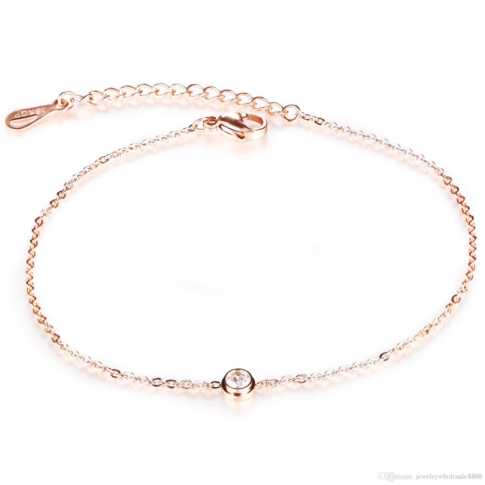 classic this clear hand silver inlays brilliant bracelet is shaped romantic zirconia heart link and polished details products ca sterling expert in chain clr a anklet ankle by with crafted adorned anklets designed cubic