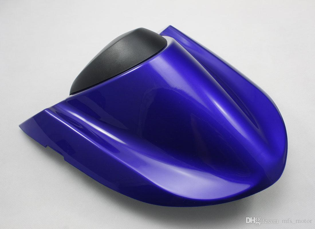 For NINJA ZX10R Motorcycle Rear Pillion All Blue Injection ABS Seat Cowl Cover For Kawasaki NINJA ZX10R 2004 2005