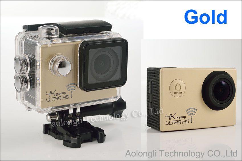 Ultra HD 4K Waterproof Camera 24fps SJ8000 WiFi Sport Action Camera 1080P/60fps 2.0 LCD 170D Lens Helmet Cam mini Camcorder DVR