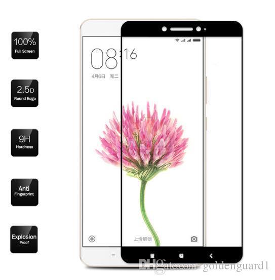 For Xiaomi Redmi Note 5A Tempered Glass Screen Protector For Xiaomi Redmi 4 Pro Note 4X Redmi 4A Note3 Note4 Silk Print Full Cover Hard Glas