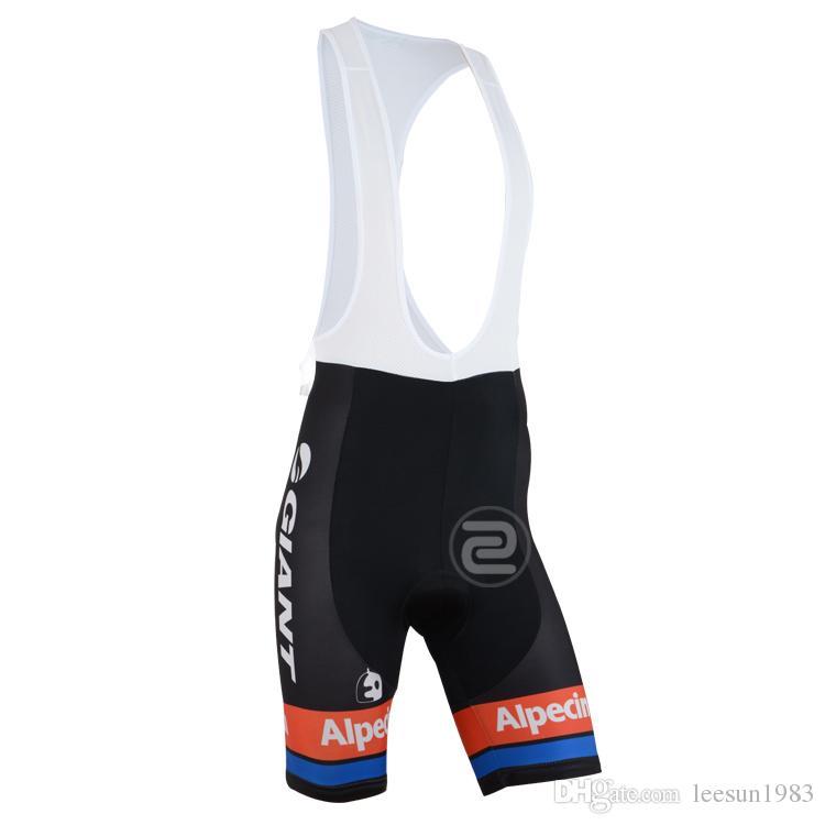 2015 GIANT -ALPECIN PRO TEAM черный G20 с коротким рукавом велоспорт Джерси лето велоспорт одежда ROPA CICLISMO+ нагрудник шорты 3D гель PAD SET размер:XS-4XL
