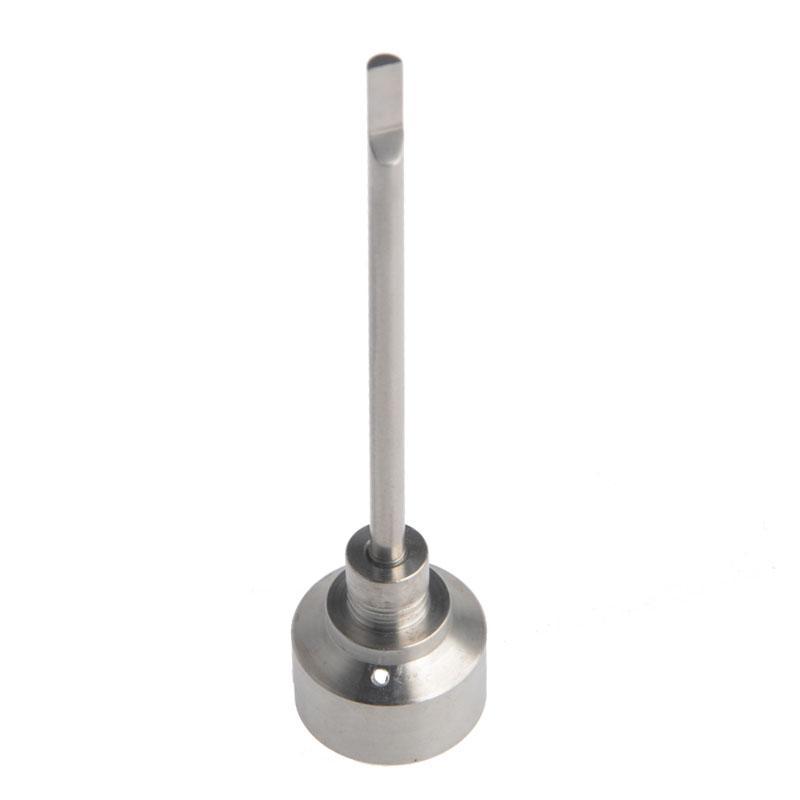 Carb крышка Титан ногтей Carb Кап gr2 Титан ногтей совместное 18.8 mm для универсального стекла Бонг курение водопроводные трубы стеклянные бонги нефтяные вышки