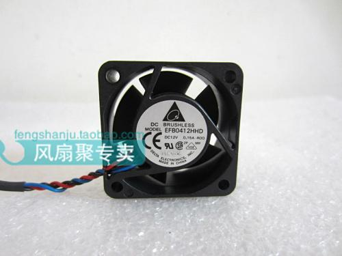 New and original in 4 cm 4020 12 where v0. 15 a EFB0412HHD - R00 40 * 40 * 20 mm 3 line switch a cooling fan
