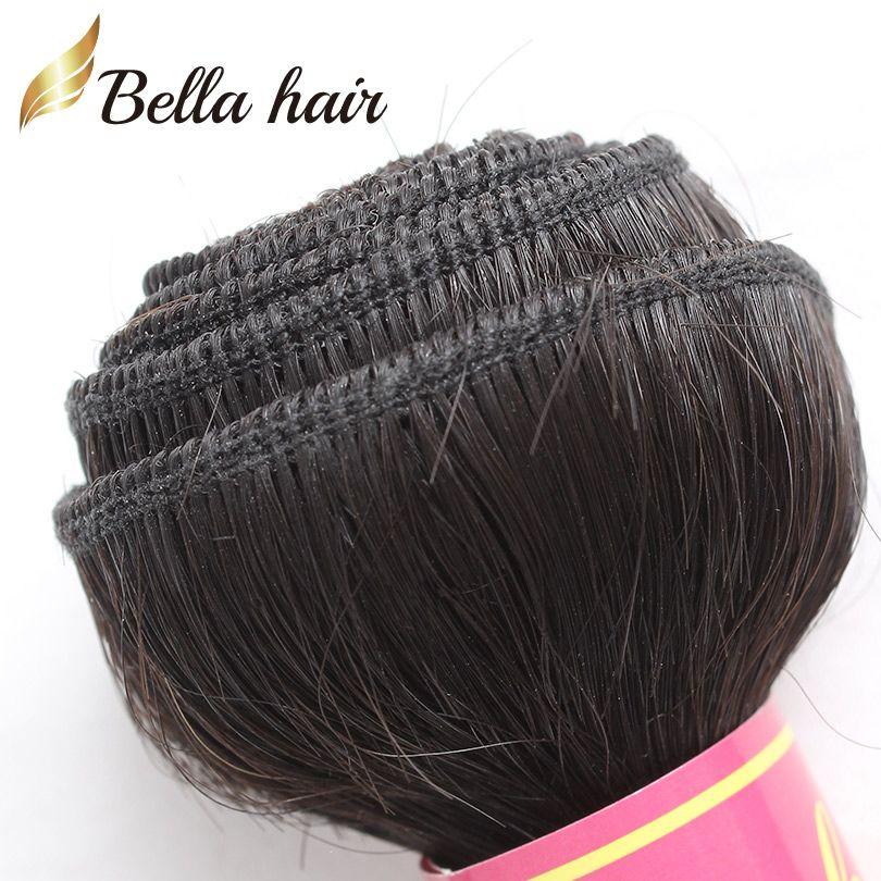 Cambogiana mongola europee Virgin tessuto dei capelli umani di colore dell'onda naturale di trama del corpo capelli umani di Remy Bundles 8