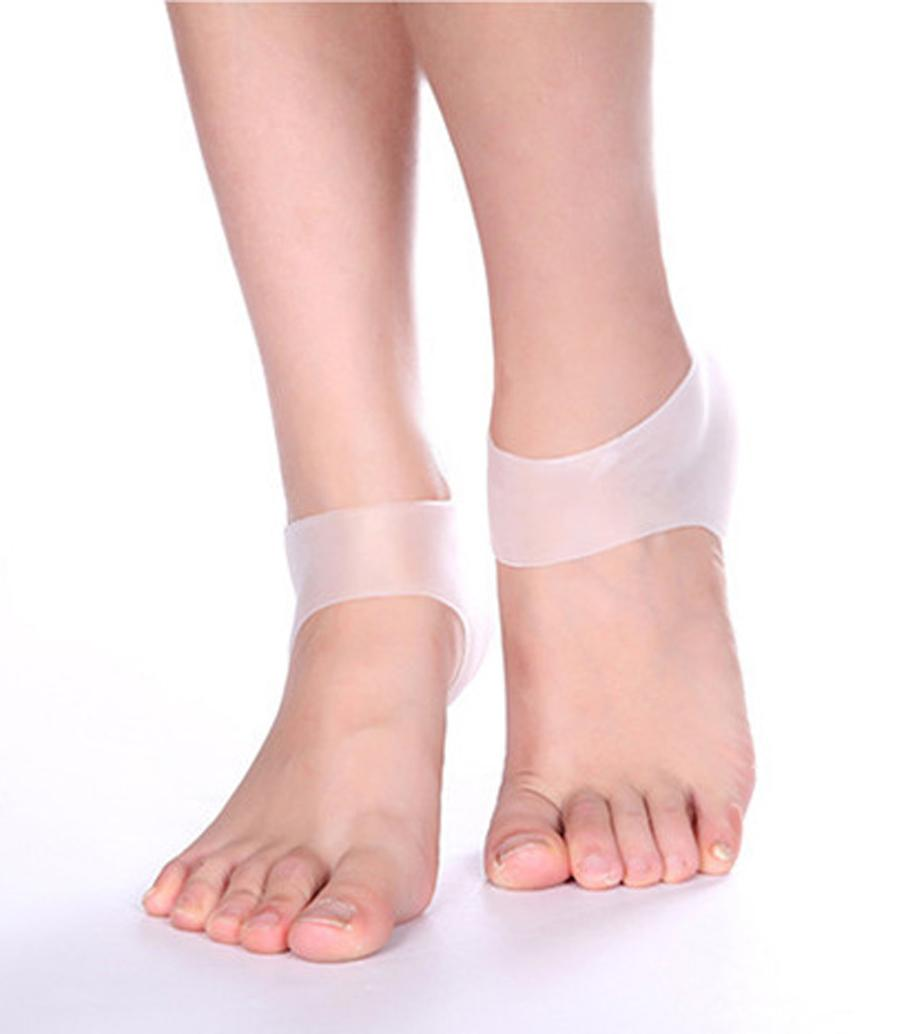 New Practical Shoes Accessories/Comfortable Gel Heel Inserts/Moisturising Heel Protectors for Foot care