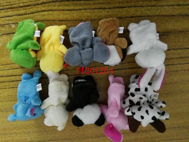 / 무료 배송 만화 손가락 인형 손가락 장난감 손가락 인형 동물 인형 아기 인형 아이의 동화 손가락 장난감 꼭두각시