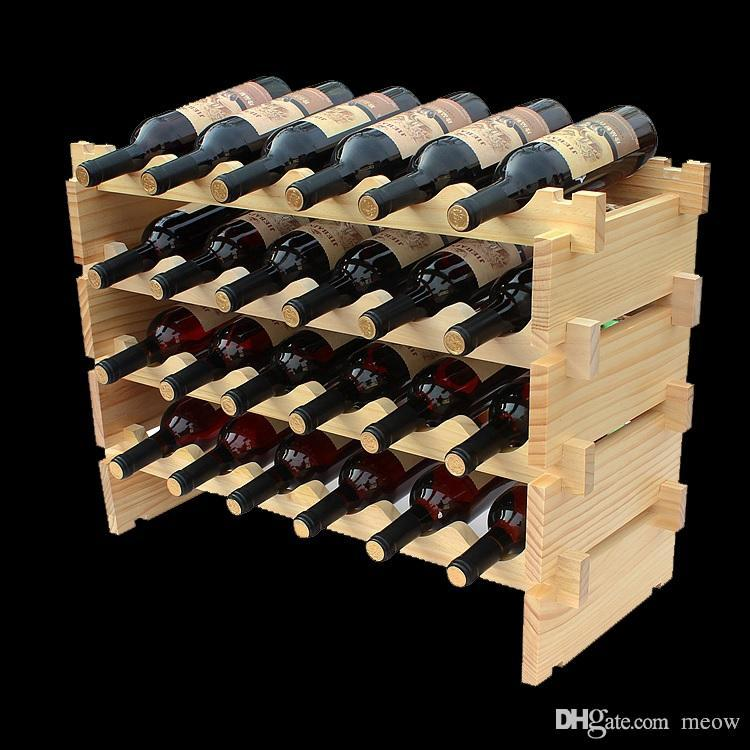 listing realtor wooden gift il closing wine rack housewarming