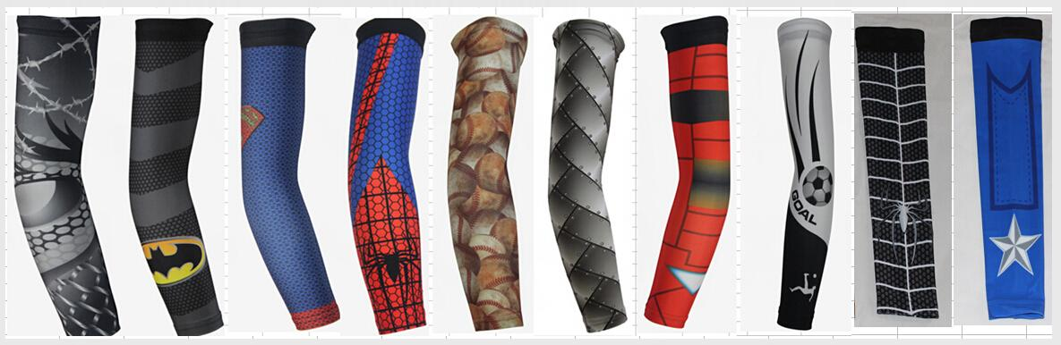 Cycling Arms Cover Sun Protection Cooling Arms Warmer Athletic Quick Dry Arm Sleeves High Class Lycra Spandex