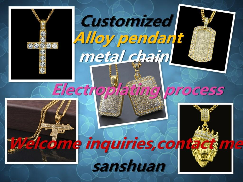 Wholesale hip hop jewelry custom made alloy material pendant wholesale hip hop jewelry custom made alloy material pendant diamond technology electroplating process customized different sizes of metal chain n aloadofball Gallery
