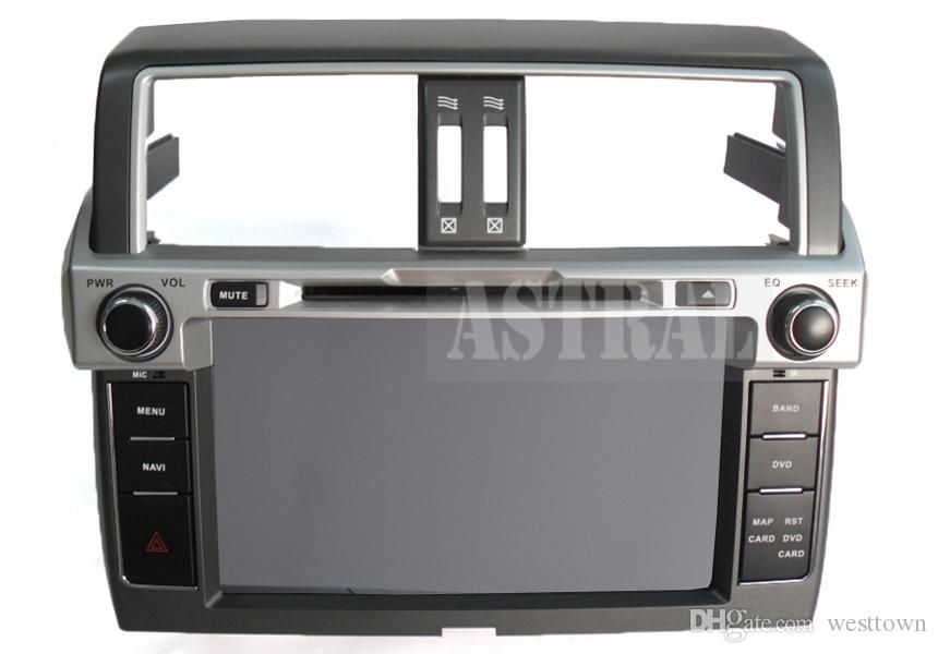 Android Car Radio Car DVD 2 Din GPS Glonass Navigator for Toyota 2014 Prado 150 Quad Core 16G 3G Wifi BT RSD